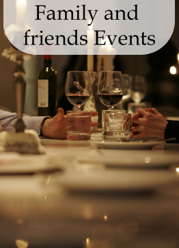 Family and friends events